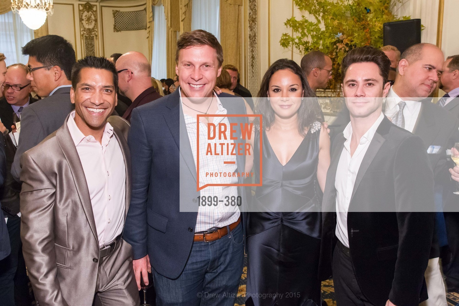 Arun Apte, Brian Gillis, Bahya Oumil-Murad, Sasha Farber, Shanti Project 41st Annual Compassion is Universal Dinner, Palace Hotel. 2 New Montgomery St, October 14th, 2015,Drew Altizer, Drew Altizer Photography, full-service agency, private events, San Francisco photographer, photographer california
