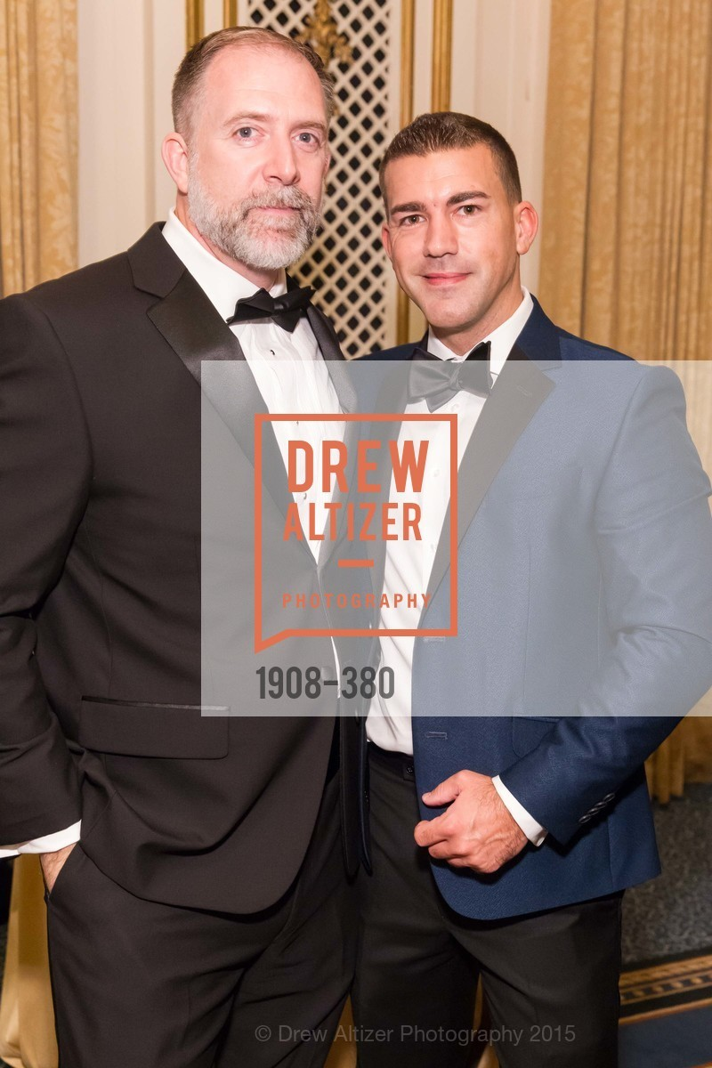 Rick Ferguson, Paul Maluchnik, Shanti Project 41st Annual Compassion is Universal Dinner, Palace Hotel. 2 New Montgomery St, October 14th, 2015,Drew Altizer, Drew Altizer Photography, full-service agency, private events, San Francisco photographer, photographer california
