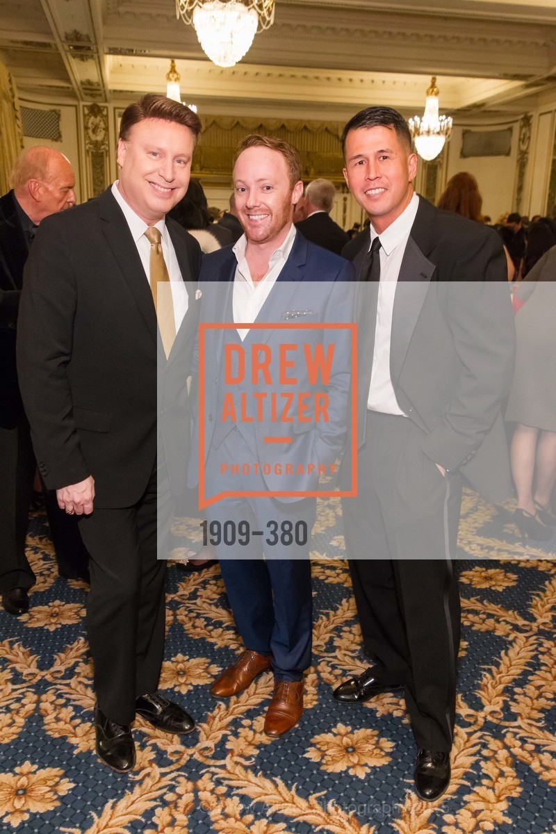 Doug Waggoner, Adam Neeley, Ben Hu, Shanti Project 41st Annual Compassion is Universal Dinner, Palace Hotel. 2 New Montgomery St, October 14th, 2015,Drew Altizer, Drew Altizer Photography, full-service agency, private events, San Francisco photographer, photographer california