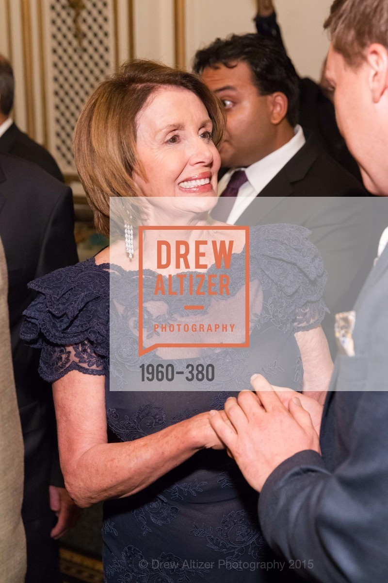 Nancy Pelosi, Shanti Project 41st Annual Compassion is Universal Dinner, Palace Hotel. 2 New Montgomery St, October 14th, 2015