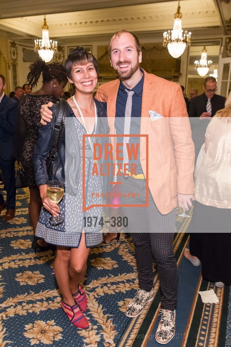 Kevyn Dehireno, Chad Benjamin Potter, Shanti Project 41st Annual Compassion is Universal Dinner, Palace Hotel. 2 New Montgomery St, October 14th, 2015,Drew Altizer, Drew Altizer Photography, full-service agency, private events, San Francisco photographer, photographer california