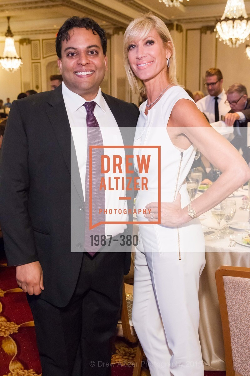 Kaushik Roy, Janet Reilly, Shanti Project 41st Annual Compassion is Universal Dinner, Palace Hotel. 2 New Montgomery St, October 14th, 2015,Drew Altizer, Drew Altizer Photography, full-service agency, private events, San Francisco photographer, photographer california