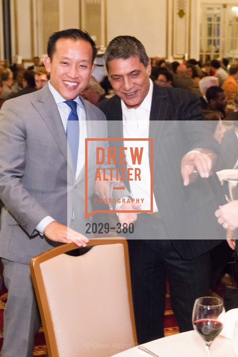 David Chiu, Gus Murad, Shanti Project 41st Annual Compassion is Universal Dinner, Palace Hotel. 2 New Montgomery St, October 14th, 2015,Drew Altizer, Drew Altizer Photography, full-service agency, private events, San Francisco photographer, photographer california