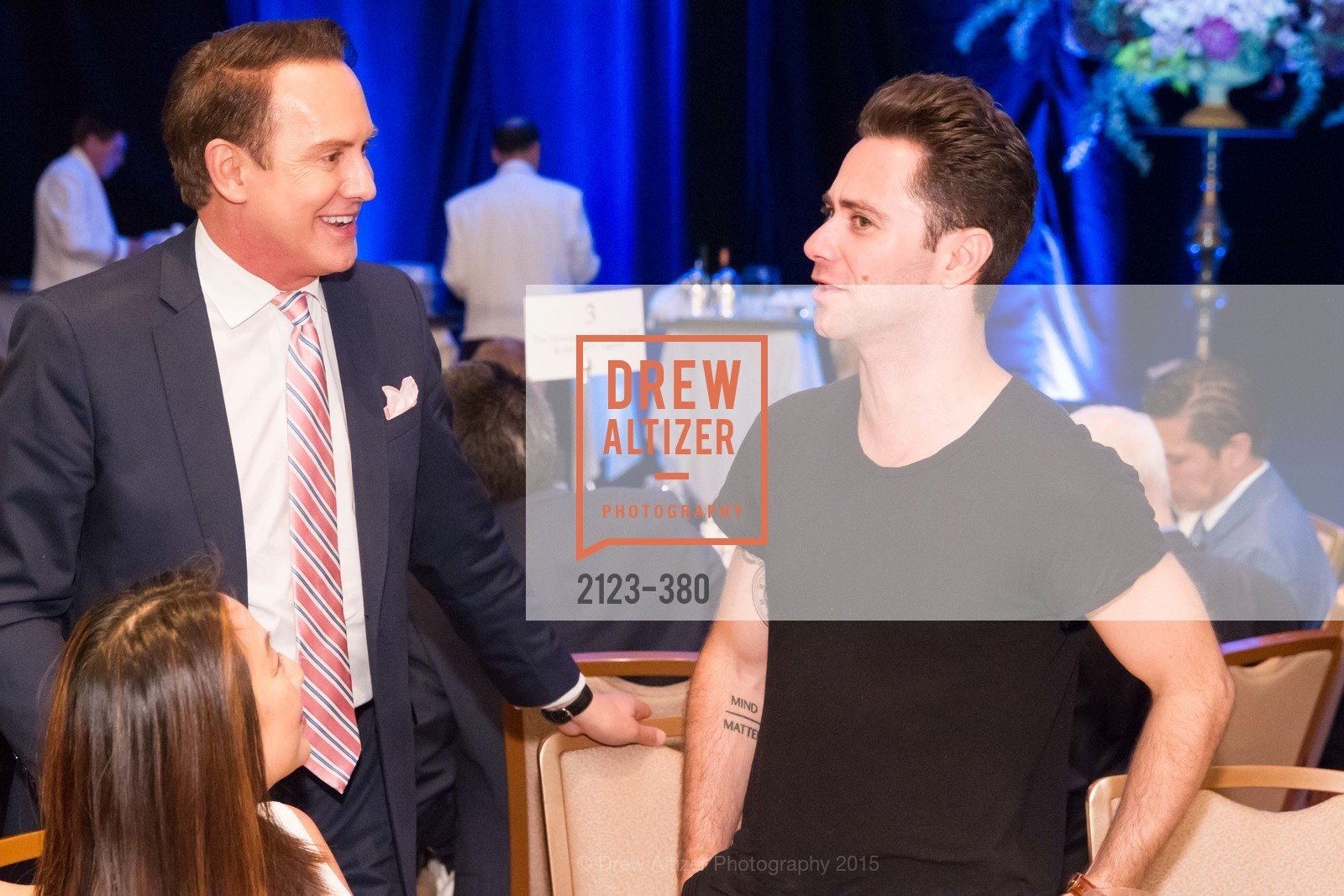 Joel Goodrich, Sasha Farber, Shanti Project 41st Annual Compassion is Universal Dinner, Palace Hotel. 2 New Montgomery St, October 14th, 2015,Drew Altizer, Drew Altizer Photography, full-service agency, private events, San Francisco photographer, photographer california