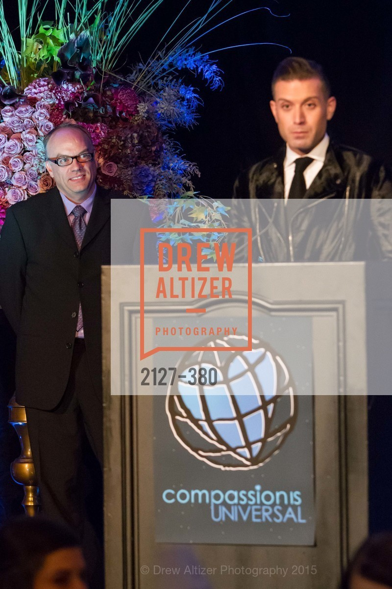 Keith Waltrip, Omar Sharif Jr., Shanti Project 41st Annual Compassion is Universal Dinner, Palace Hotel. 2 New Montgomery St, October 14th, 2015,Drew Altizer, Drew Altizer Photography, full-service agency, private events, San Francisco photographer, photographer california