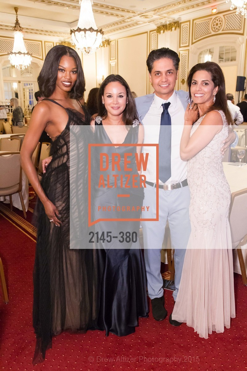Eugena Washington, Bahya Murad, Karim Naji, Ikram Naji, Shanti Project 41st Annual Compassion is Universal Dinner, Palace Hotel. 2 New Montgomery St, October 14th, 2015,Drew Altizer, Drew Altizer Photography, full-service agency, private events, San Francisco photographer, photographer california