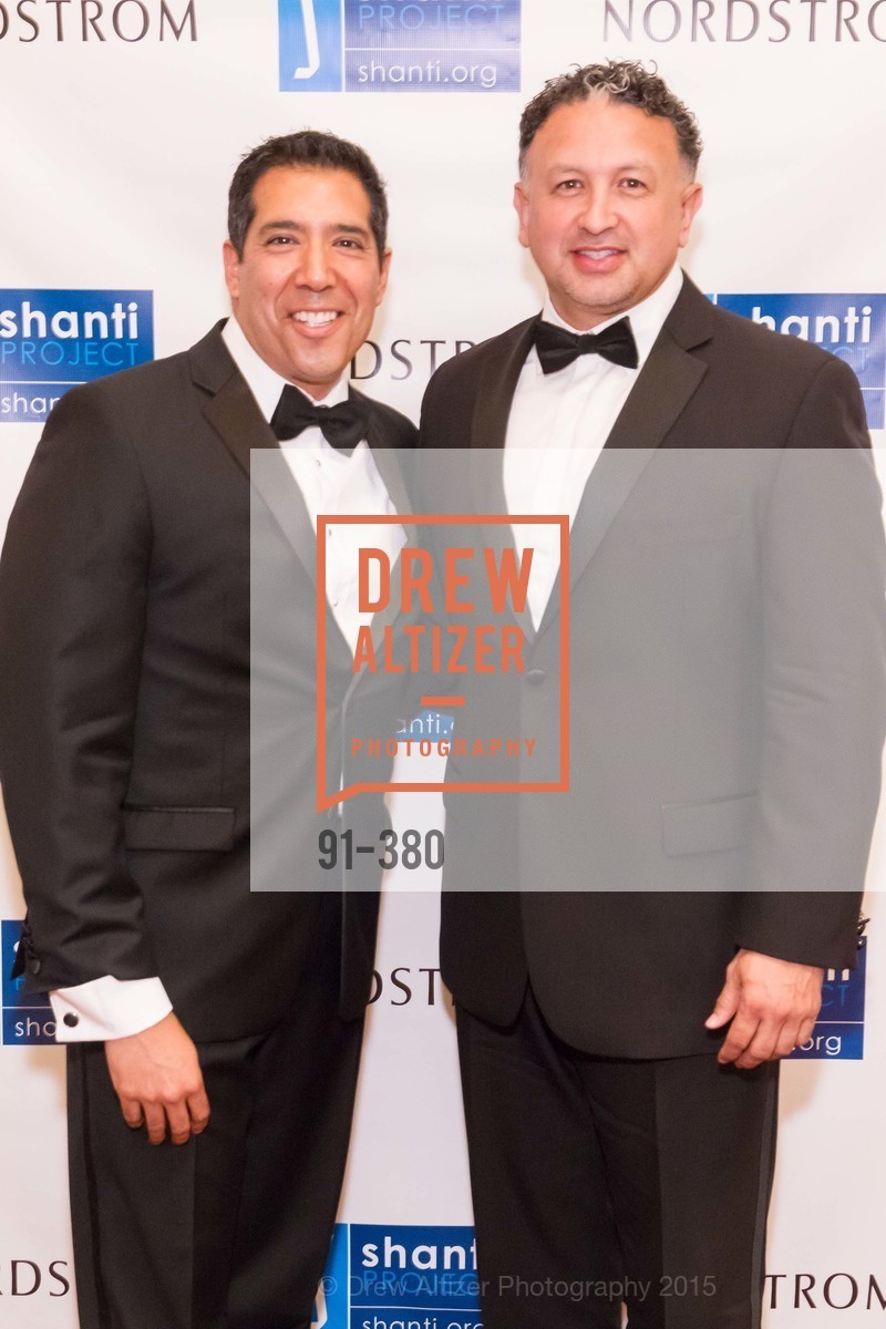 Alex Rivera, Miguel Bustos, Shanti Project 41st Annual Compassion is Universal Dinner, Palace Hotel. 2 New Montgomery St, October 14th, 2015,Drew Altizer, Drew Altizer Photography, full-service agency, private events, San Francisco photographer, photographer california
