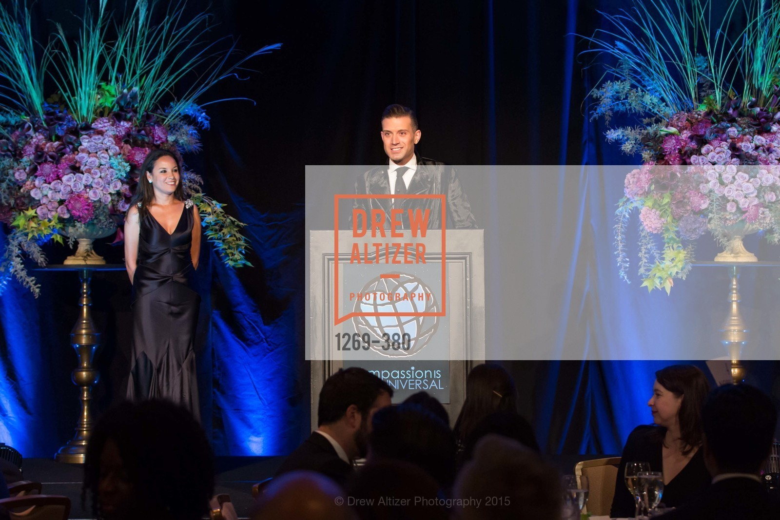 Bahya Oumil-Murad, Omar Sharif Jr., Shanti Project 41st Annual Compassion is Universal Dinner, Palace Hotel. 2 New Montgomery St, October 14th, 2015,Drew Altizer, Drew Altizer Photography, full-service agency, private events, San Francisco photographer, photographer california