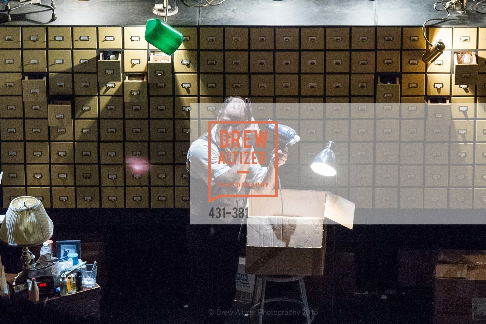Performance, Opening Night of Curran: Under Construction's THE OBJECT LESSON, Curan Theater. 445 Geary St, October 14th, 2015,Drew Altizer, Drew Altizer Photography, full-service agency, private events, San Francisco photographer, photographer california