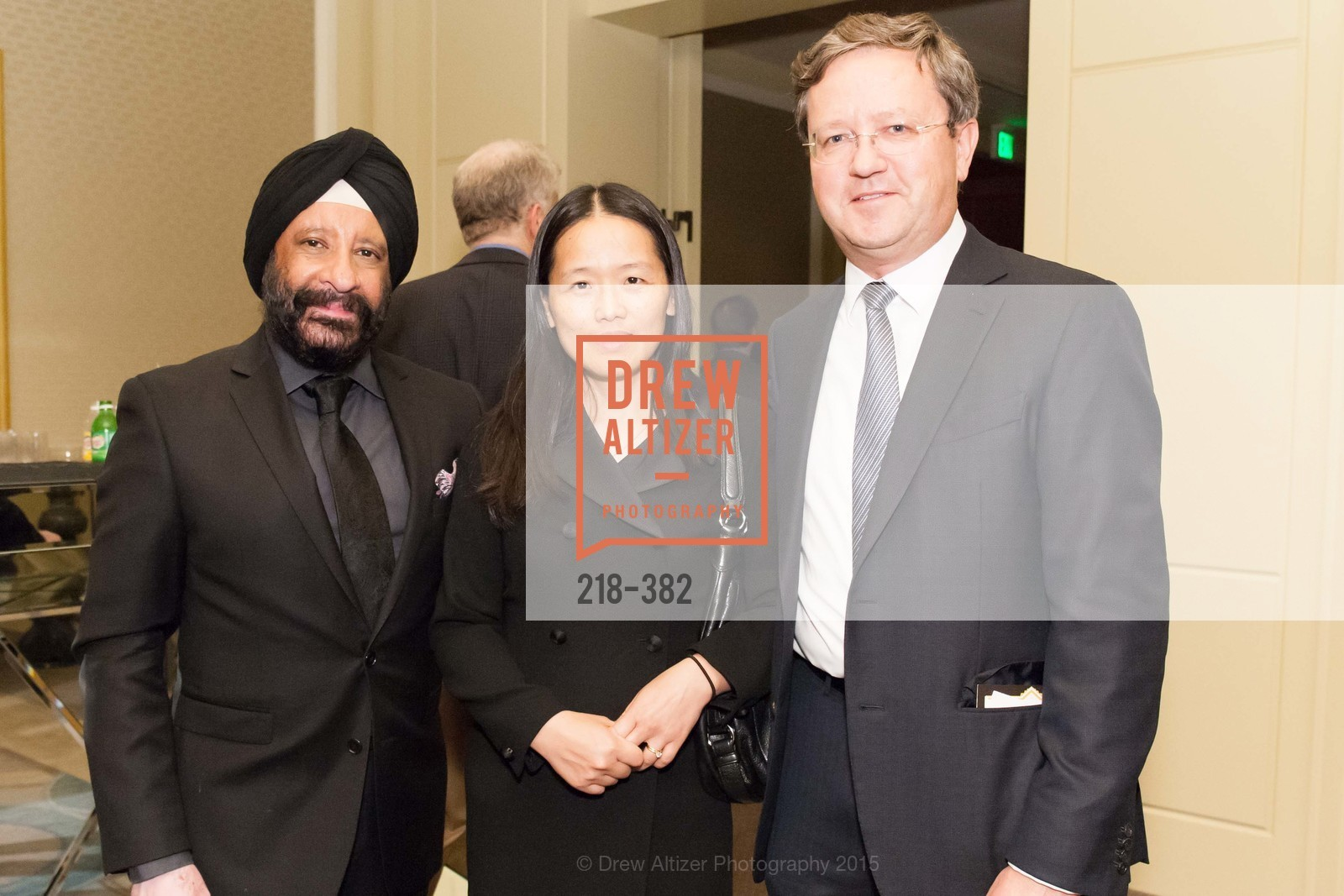 Gurpreet Ratra, Hong Yao, Jean Viret, American Cancer Society San Francisco Soiree, Four Seasons Hotel. 757 Market Street, October 15th, 2015,Drew Altizer, Drew Altizer Photography, full-service agency, private events, San Francisco photographer, photographer california