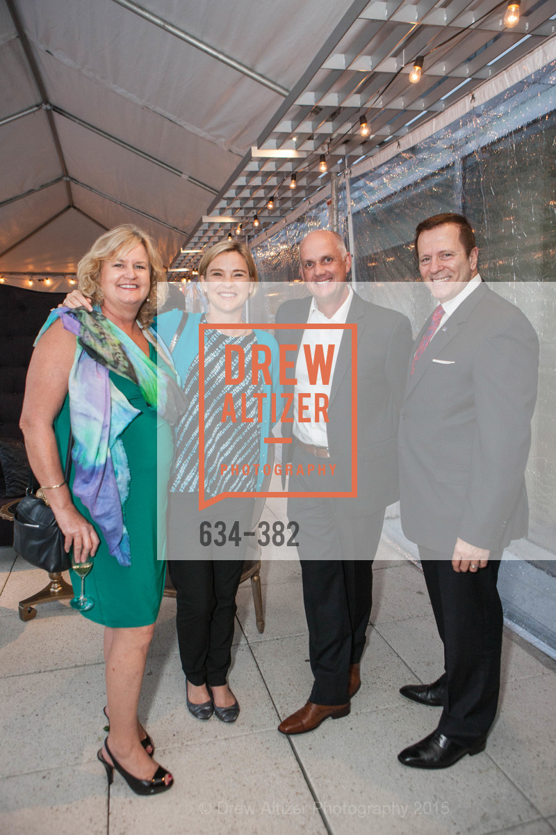 Maggie Hannigan, Hillary Pheakston, Brian Baker, David Beneziano, American Cancer Society San Francisco Soiree, Four Seasons Hotel. 757 Market Street, October 15th, 2015,Drew Altizer, Drew Altizer Photography, full-service event agency, private events, San Francisco photographer, photographer California