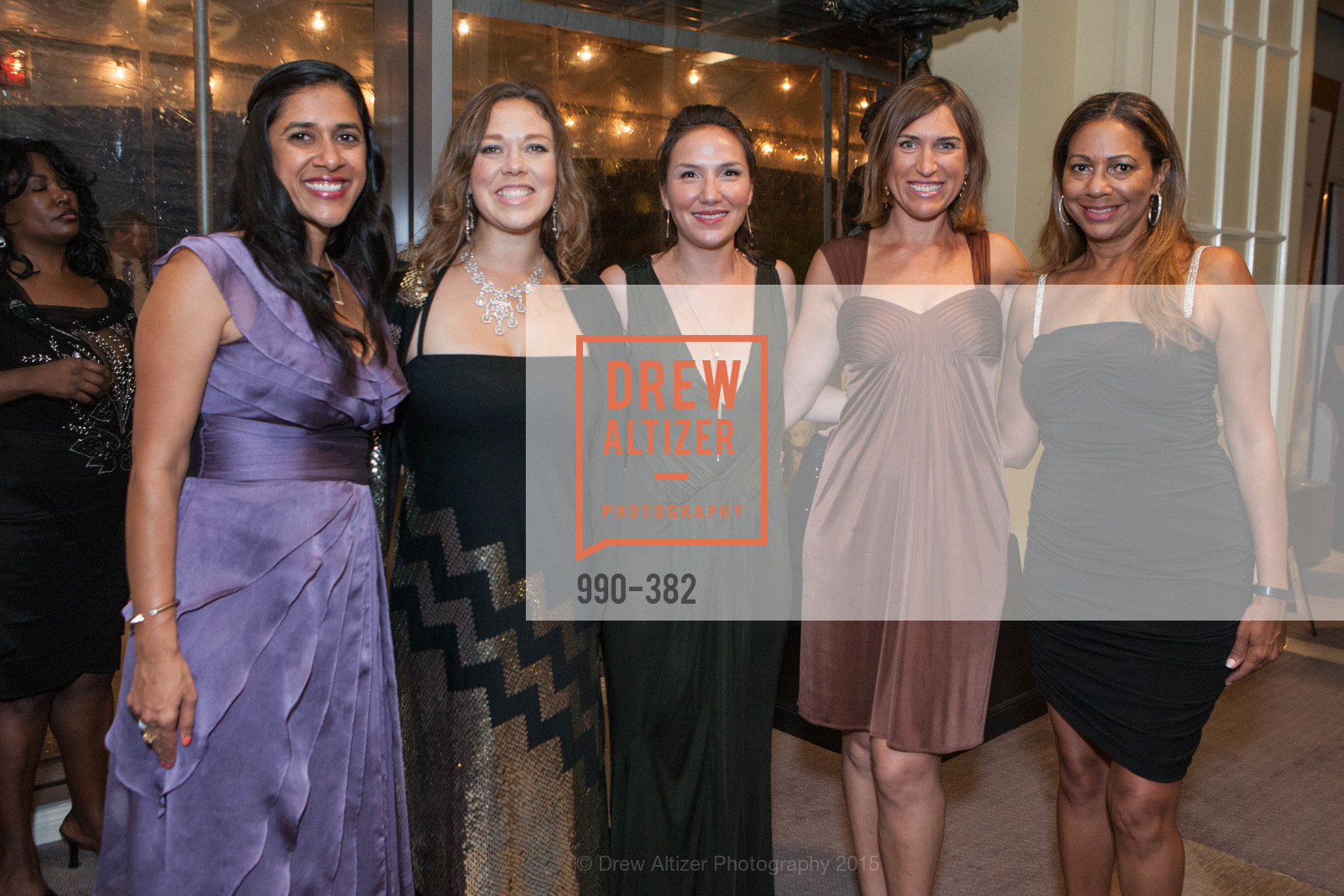 Sonali Chopra, Virginia Klausmeier, Jane Alston, Alana Paull, Cynthia Dunn, American Cancer Society San Francisco Soiree, Four Seasons Hotel. 757 Market Street, October 15th, 2015,Drew Altizer, Drew Altizer Photography, full-service event agency, private events, San Francisco photographer, photographer California