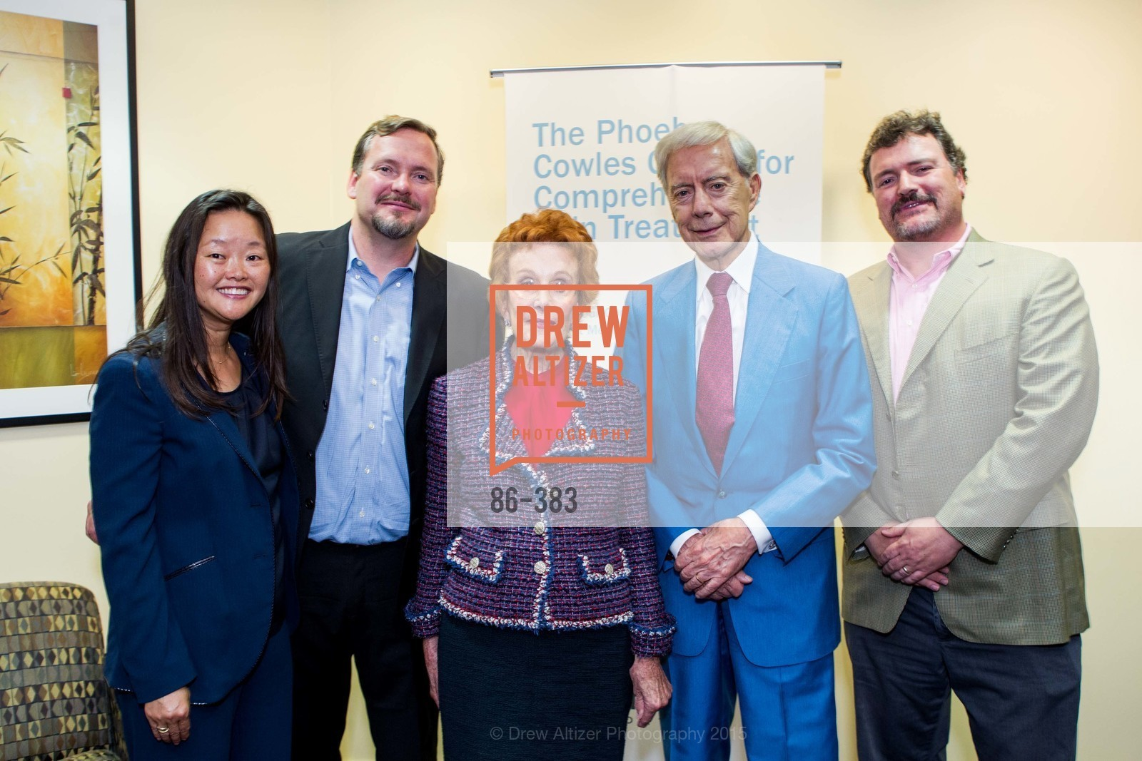Jane Yao, Michael Gibson, Phoebe Cowles, Robert Girard, Mark Gibson, Groundbreaking ceremony for the Phoebe Cowles Center for Comprehensive Pain Treatment, Phoebe Cowles Center for Comprehensive Pain Treatment. 1199 Bush Street, October 15th, 2015,Drew Altizer, Drew Altizer Photography, full-service event agency, private events, San Francisco photographer, photographer California