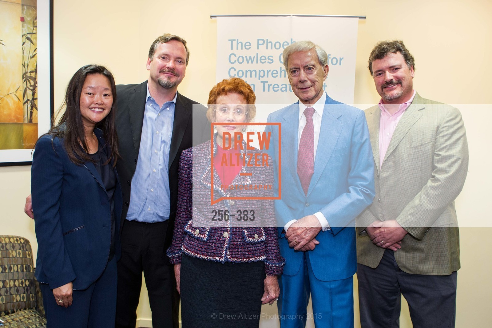 Jane Yao, Michael Gibson, Phoebe Cowles, Robert Girard, Mark Gibson, Groundbreaking ceremony for the Phoebe Cowles Center for Comprehensive Pain Treatment, Phoebe Cowles Center for Comprehensive Pain Treatment. 1199 Bush Street, October 15th, 2015,Drew Altizer, Drew Altizer Photography, full-service agency, private events, San Francisco photographer, photographer california