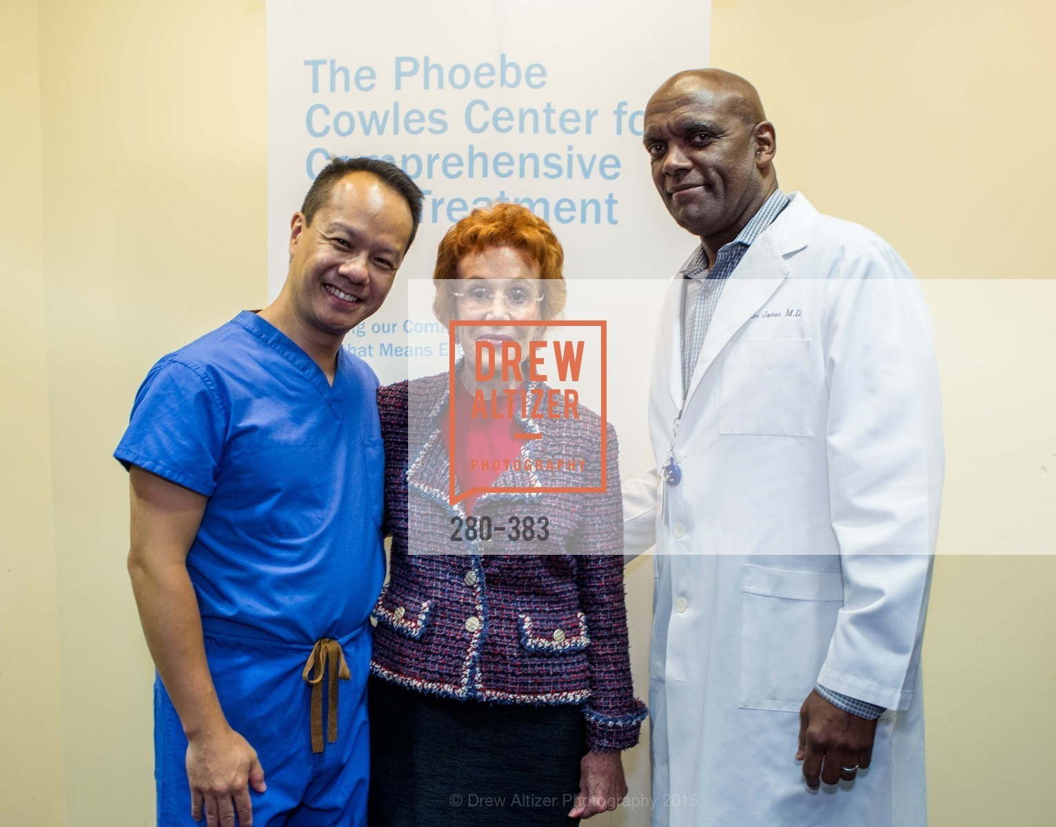 Dr. Hoyman Hong, Phoebe Cowles, Dr. Clem Jones, Groundbreaking ceremony for the Phoebe Cowles Center for Comprehensive Pain Treatment, Phoebe Cowles Center for Comprehensive Pain Treatment. 1199 Bush Street, October 15th, 2015,Drew Altizer, Drew Altizer Photography, full-service agency, private events, San Francisco photographer, photographer california