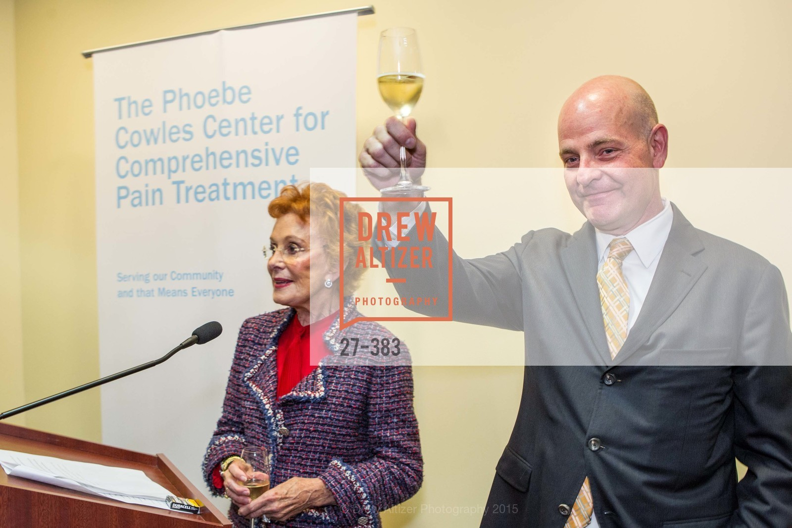 Phoebe Cowles, Kevin Causey, Groundbreaking ceremony for the Phoebe Cowles Center for Comprehensive Pain Treatment, Phoebe Cowles Center for Comprehensive Pain Treatment. 1199 Bush Street, October 15th, 2015,Drew Altizer, Drew Altizer Photography, full-service agency, private events, San Francisco photographer, photographer california