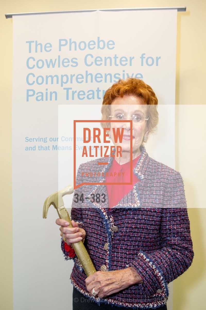 Phoebe Cowles, Groundbreaking ceremony for the Phoebe Cowles Center for Comprehensive Pain Treatment, Phoebe Cowles Center for Comprehensive Pain Treatment. 1199 Bush Street, October 15th, 2015,Drew Altizer, Drew Altizer Photography, full-service agency, private events, San Francisco photographer, photographer california