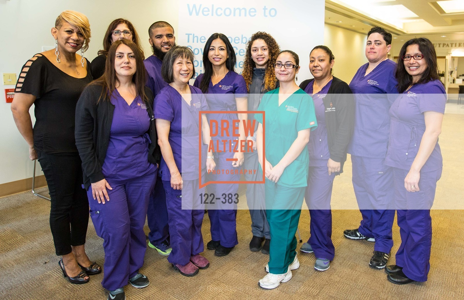 Medical Staff, Groundbreaking ceremony for the Phoebe Cowles Center for Comprehensive Pain Treatment, Phoebe Cowles Center for Comprehensive Pain Treatment. 1199 Bush Street, October 15th, 2015,Drew Altizer, Drew Altizer Photography, full-service agency, private events, San Francisco photographer, photographer california