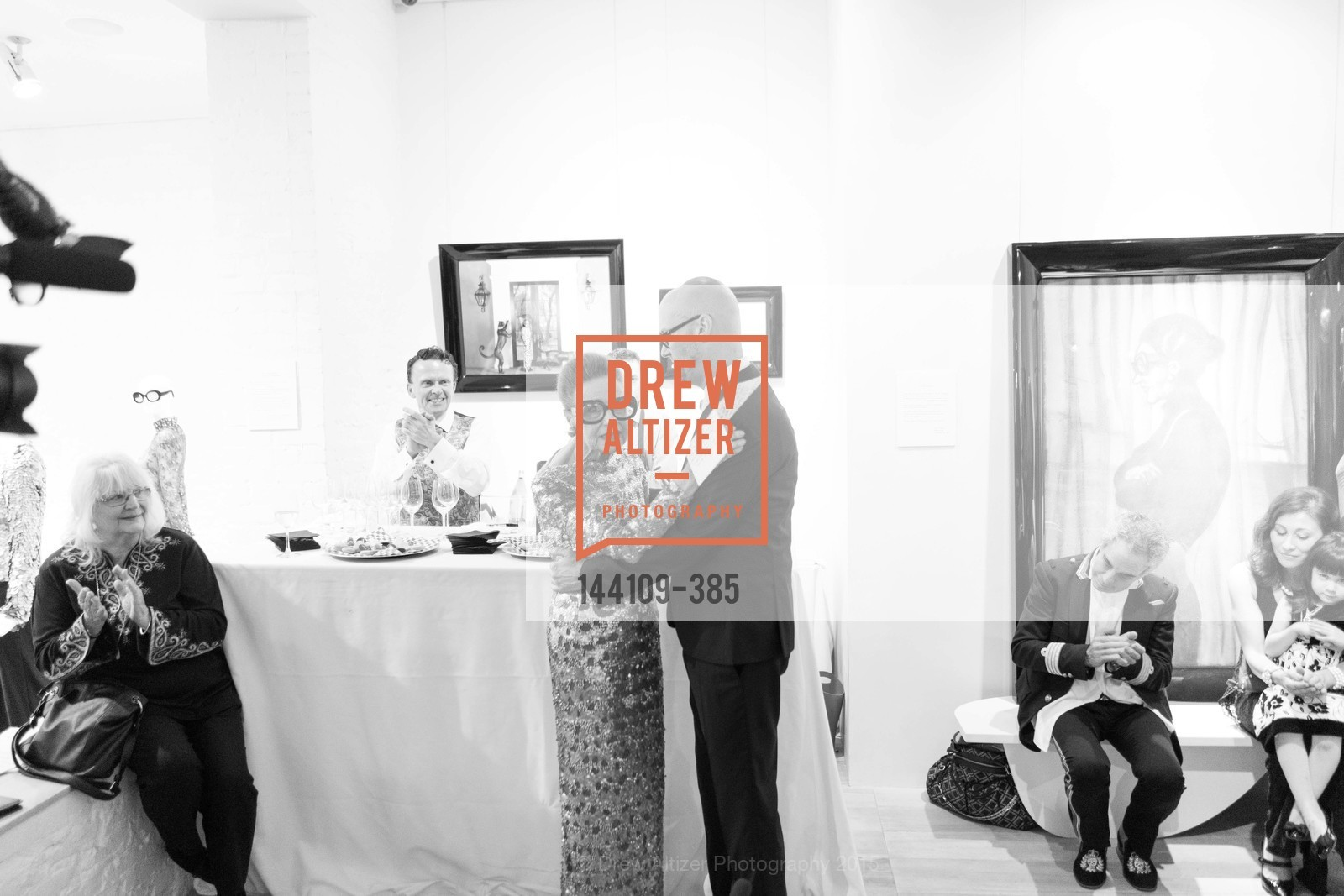 Joy Venturini Bianchi, Tim Whalen, Celebrating Life through Fashion A Retrospective: Collection of Joy Venturini Bianchi to benefit those who are developmentally disabled, Hedge Gallery. 501 Pacific Ave, October 17th, 2015,Drew Altizer, Drew Altizer Photography, full-service agency, private events, San Francisco photographer, photographer california