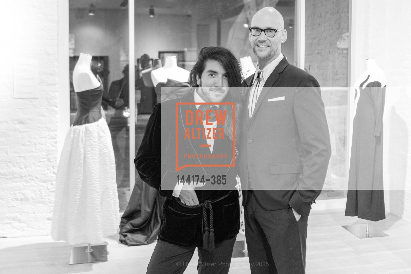 Ryan Castaneda, Tim Whalen, Celebrating Life through Fashion A Retrospective: Collection of Joy Venturini Bianchi to benefit those who are developmentally disabled, Hedge Gallery. 501 Pacific Ave, October 17th, 2015,Drew Altizer, Drew Altizer Photography, full-service event agency, private events, San Francisco photographer, photographer California