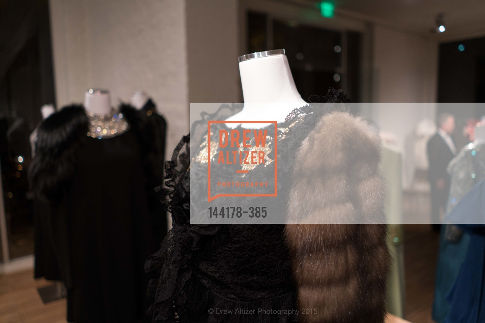 Atmosphere, Celebrating Life through Fashion A Retrospective: Collection of Joy Venturini Bianchi to benefit those who are developmentally disabled, Hedge Gallery. 501 Pacific Ave, October 17th, 2015