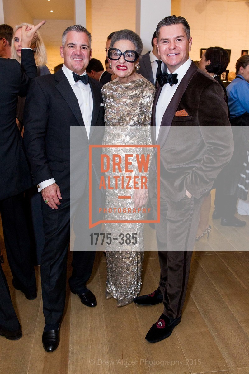 Tim Graffigna, Joy Venturini Bianchi, Chris Meza, Celebrating Life through Fashion A Retrospective: Collection of Joy Venturini Bianchi to benefit those who are developmentally disabled, Hedge Gallery. 501 Pacific Ave, October 17th, 2015,Drew Altizer, Drew Altizer Photography, full-service event agency, private events, San Francisco photographer, photographer California