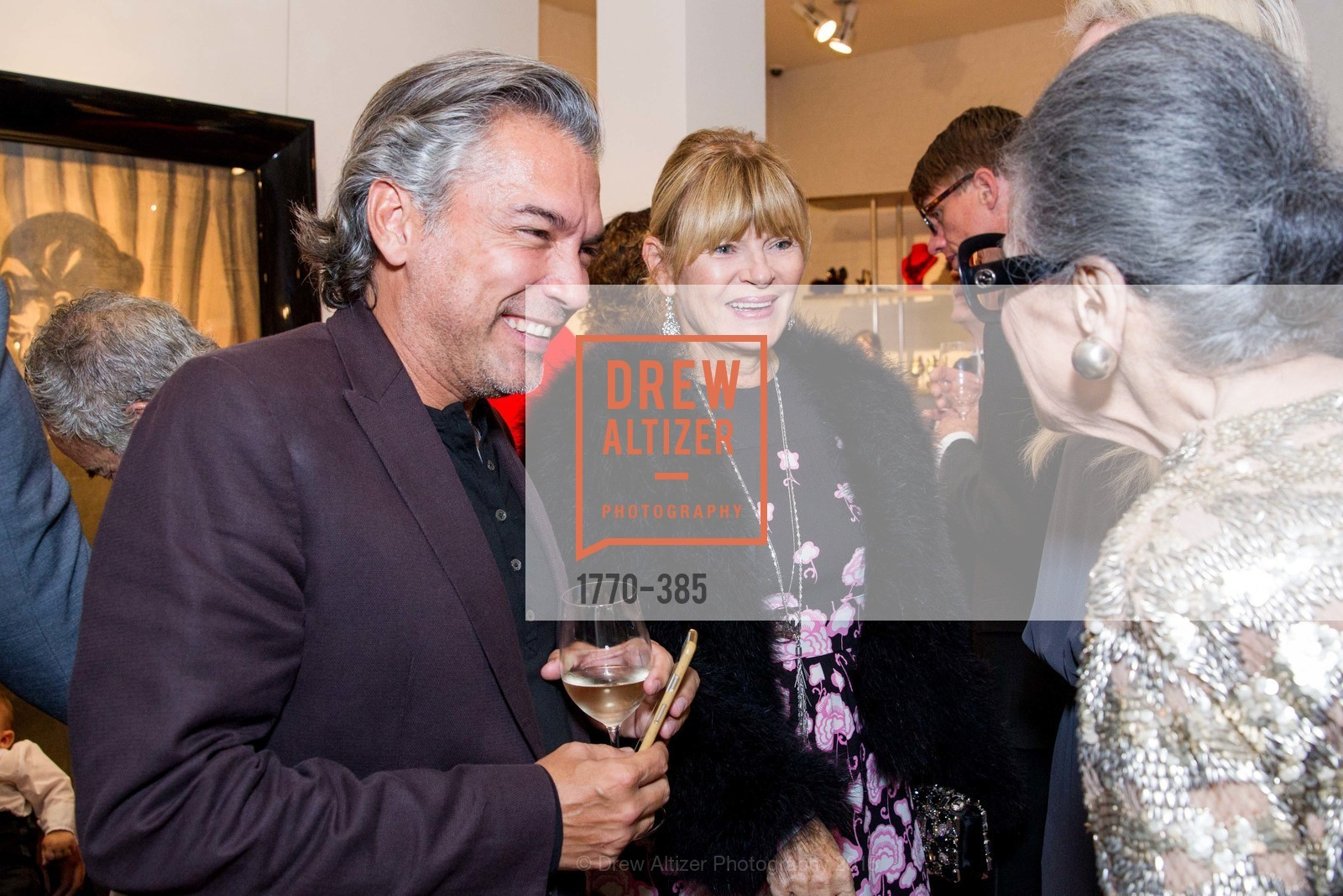 Chris Mota, Celebrating Life through Fashion A Retrospective: Collection of Joy Venturini Bianchi to benefit those who are developmentally disabled, Hedge Gallery. 501 Pacific Ave, October 17th, 2015,Drew Altizer, Drew Altizer Photography, full-service agency, private events, San Francisco photographer, photographer california