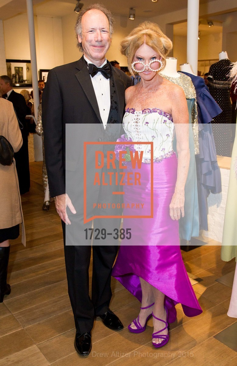 Tom Barrett, Belinda Berry, Celebrating Life through Fashion A Retrospective: Collection of Joy Venturini Bianchi to benefit those who are developmentally disabled, Hedge Gallery. 501 Pacific Ave, October 17th, 2015,Drew Altizer, Drew Altizer Photography, full-service agency, private events, San Francisco photographer, photographer california