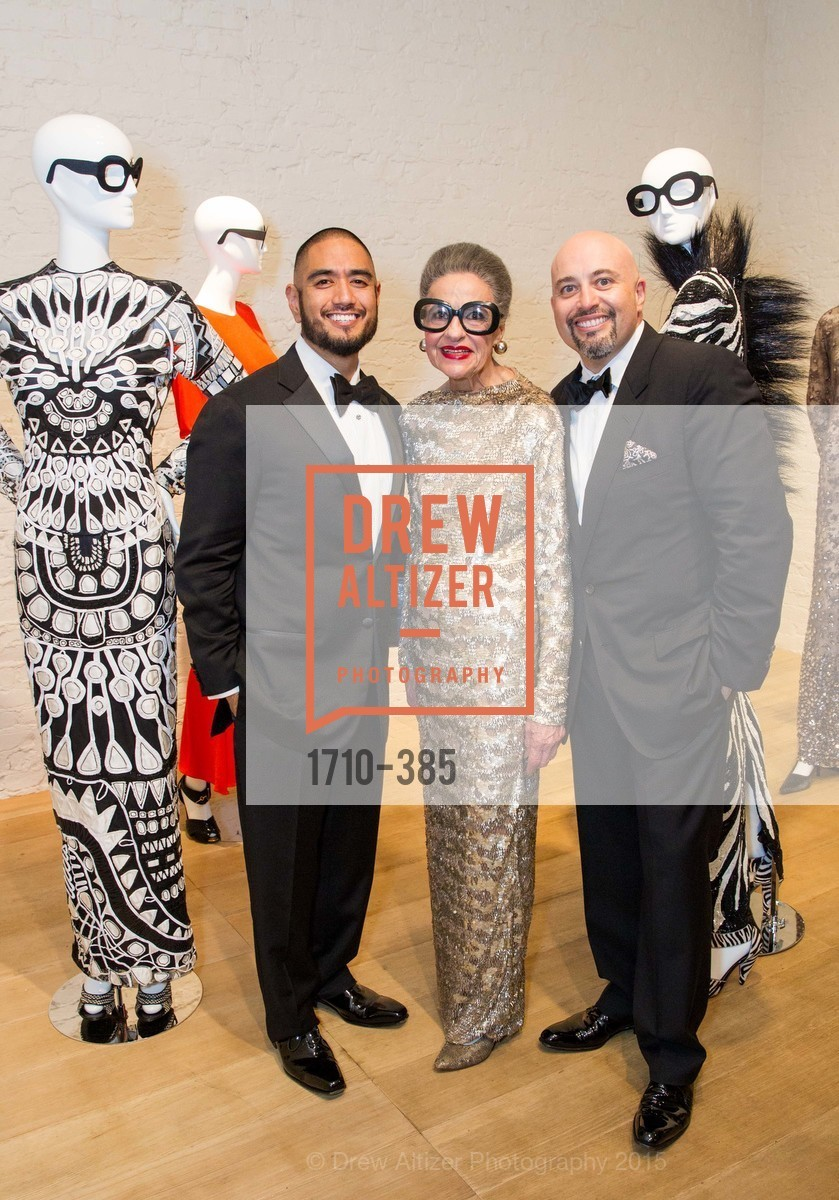 Wayne Bautista, Joy Venturini Bianchi, Alfredo Pedroza, Celebrating Life through Fashion A Retrospective: Collection of Joy Venturini Bianchi to benefit those who are developmentally disabled, Hedge Gallery. 501 Pacific Ave, October 17th, 2015,Drew Altizer, Drew Altizer Photography, full-service event agency, private events, San Francisco photographer, photographer California