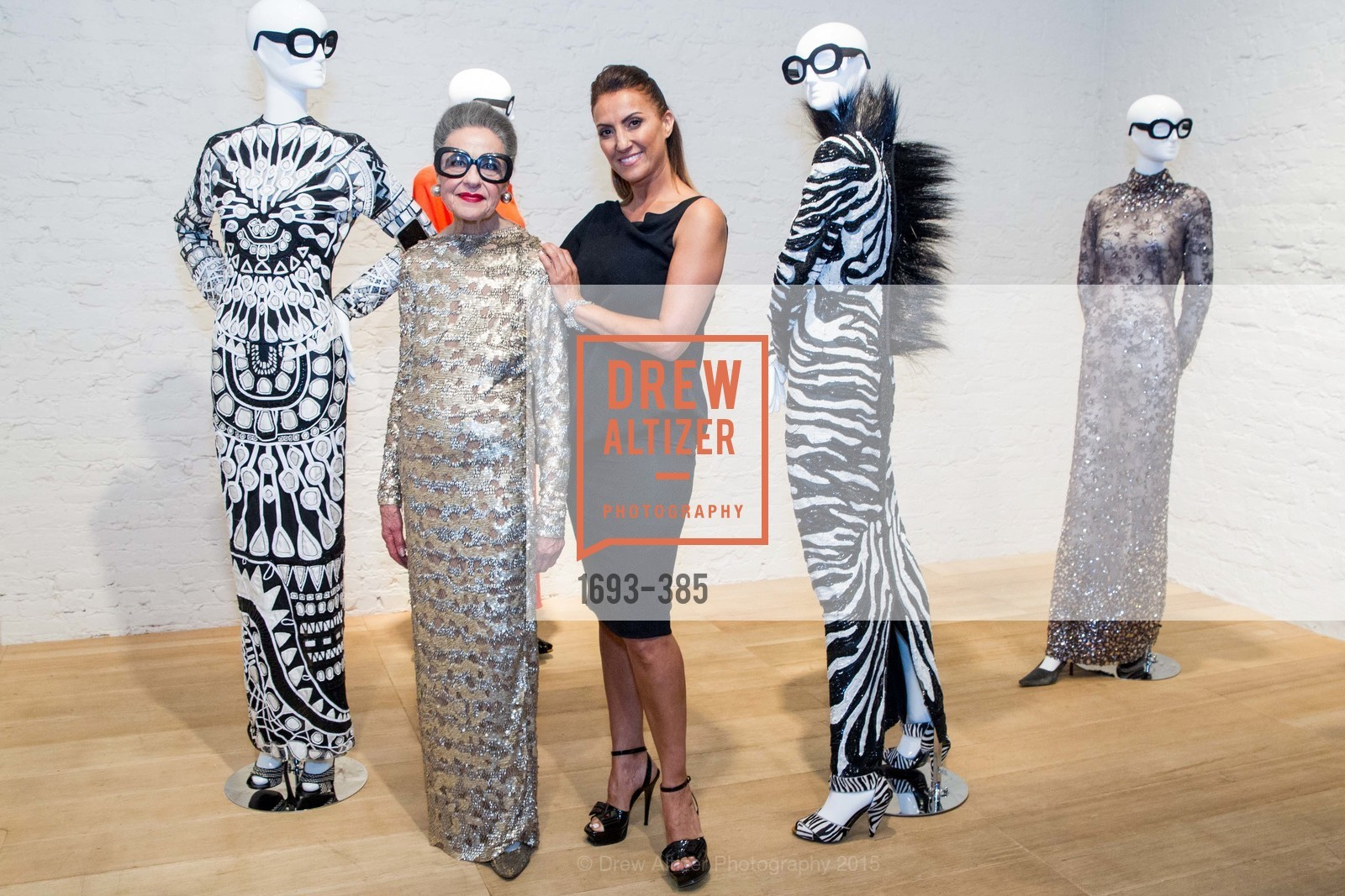 Joy Venturini Bianchi, Fatima Puchi, Celebrating Life through Fashion A Retrospective: Collection of Joy Venturini Bianchi to benefit those who are developmentally disabled, Hedge Gallery. 501 Pacific Ave, October 17th, 2015,Drew Altizer, Drew Altizer Photography, full-service agency, private events, San Francisco photographer, photographer california