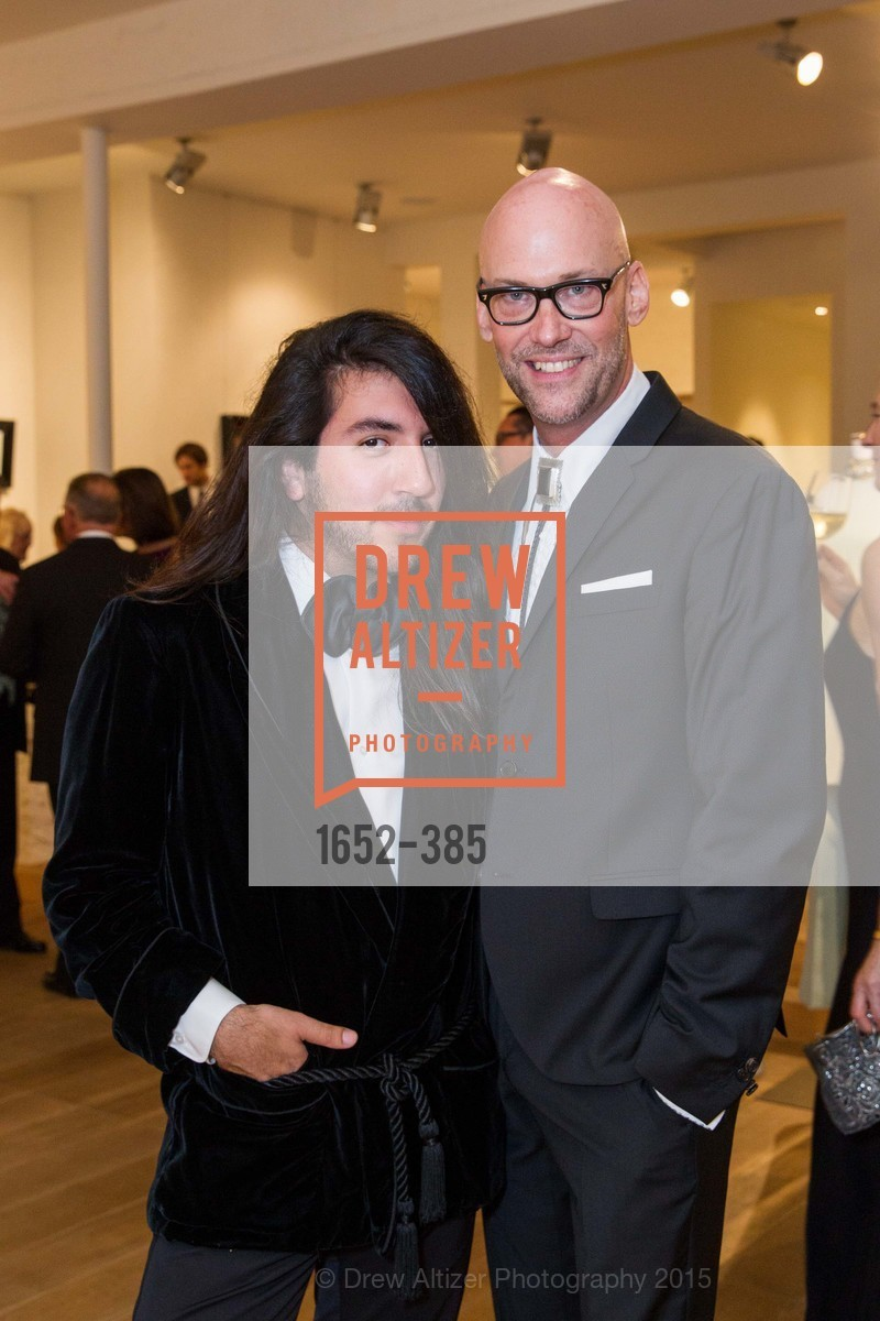 Ryan Castaneda, Tim Whalen, Celebrating Life through Fashion A Retrospective: Collection of Joy Venturini Bianchi to benefit those who are developmentally disabled, Hedge Gallery. 501 Pacific Ave, October 17th, 2015,Drew Altizer, Drew Altizer Photography, full-service agency, private events, San Francisco photographer, photographer california