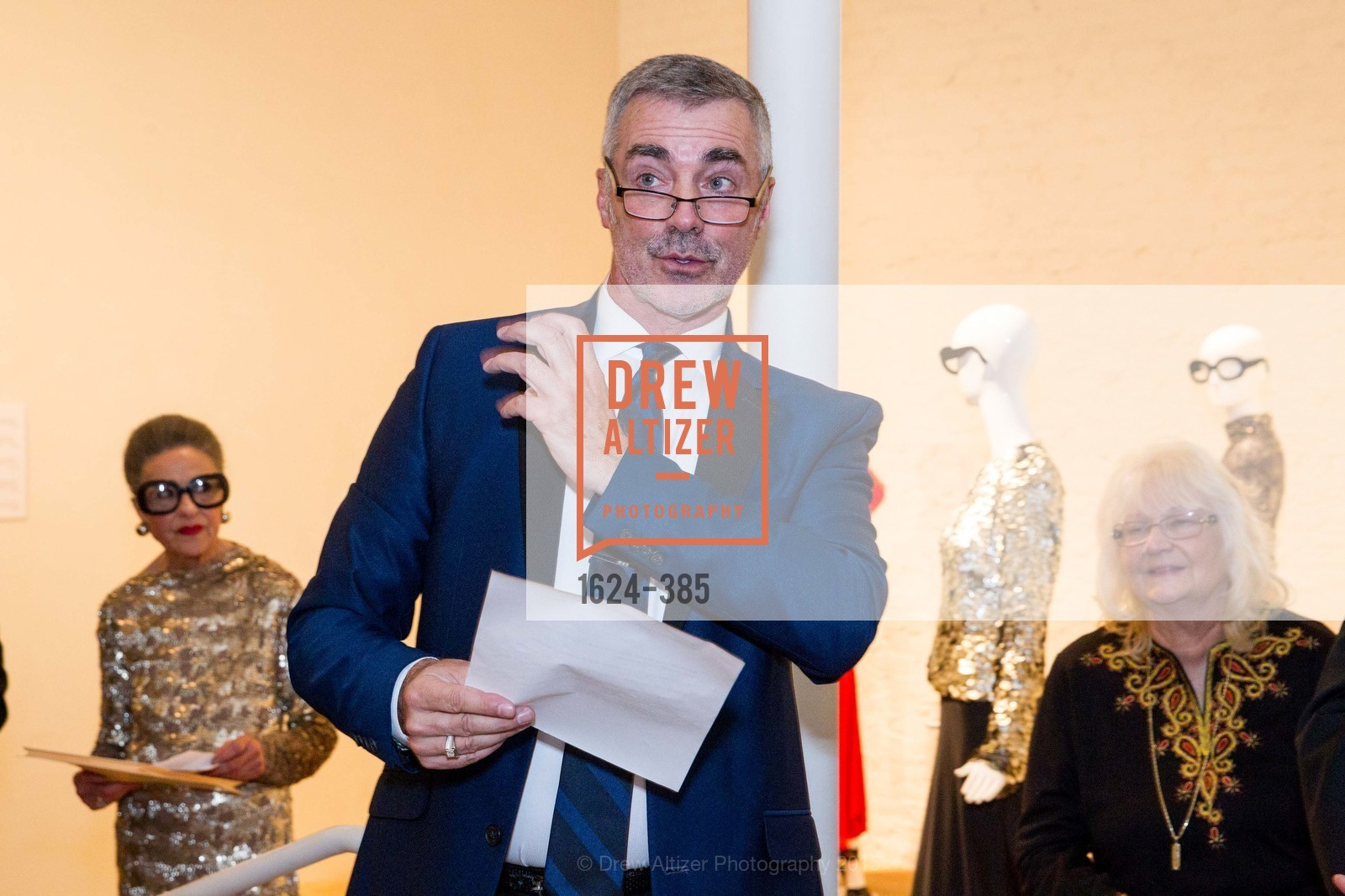 Lenny Broberg, Celebrating Life through Fashion A Retrospective: Collection of Joy Venturini Bianchi to benefit those who are developmentally disabled, Hedge Gallery. 501 Pacific Ave, October 17th, 2015,Drew Altizer, Drew Altizer Photography, full-service event agency, private events, San Francisco photographer, photographer California