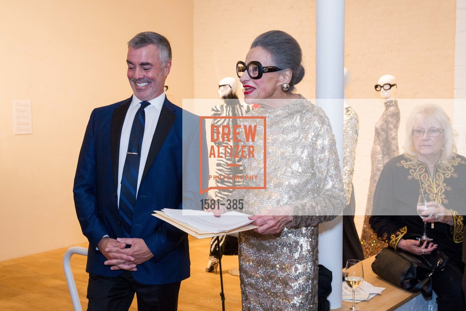 Lenny Broberg, Joy Venturini Bianchi, Celebrating Life through Fashion A Retrospective: Collection of Joy Venturini Bianchi to benefit those who are developmentally disabled, Hedge Gallery. 501 Pacific Ave, October 17th, 2015,Drew Altizer, Drew Altizer Photography, full-service agency, private events, San Francisco photographer, photographer california