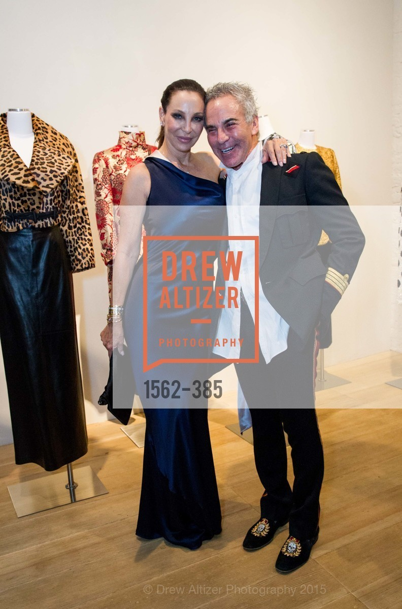 Lisa Pliner, Donald Pliner, Celebrating Life through Fashion A Retrospective: Collection of Joy Venturini Bianchi to benefit those who are developmentally disabled, Hedge Gallery. 501 Pacific Ave, October 17th, 2015,Drew Altizer, Drew Altizer Photography, full-service agency, private events, San Francisco photographer, photographer california