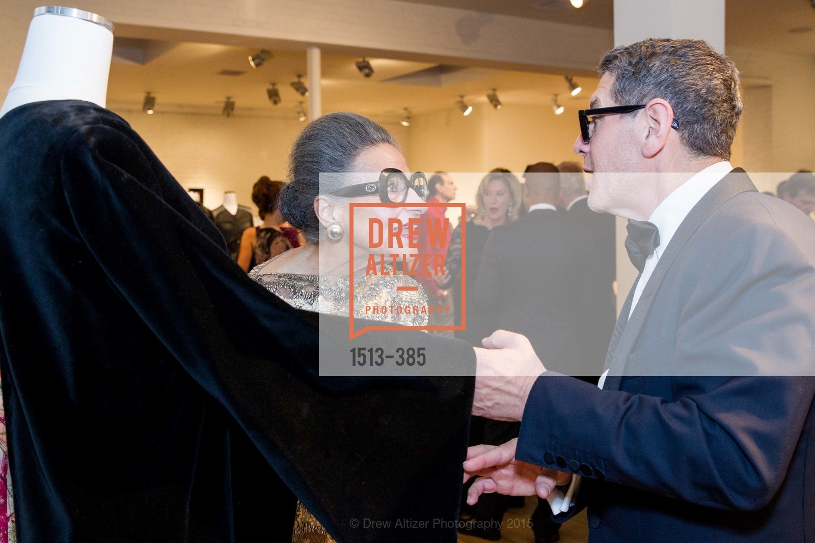 Joy Venturini Bianchi, Steven Volpe, Celebrating Life through Fashion A Retrospective: Collection of Joy Venturini Bianchi to benefit those who are developmentally disabled, Hedge Gallery. 501 Pacific Ave, October 17th, 2015,Drew Altizer, Drew Altizer Photography, full-service agency, private events, San Francisco photographer, photographer california