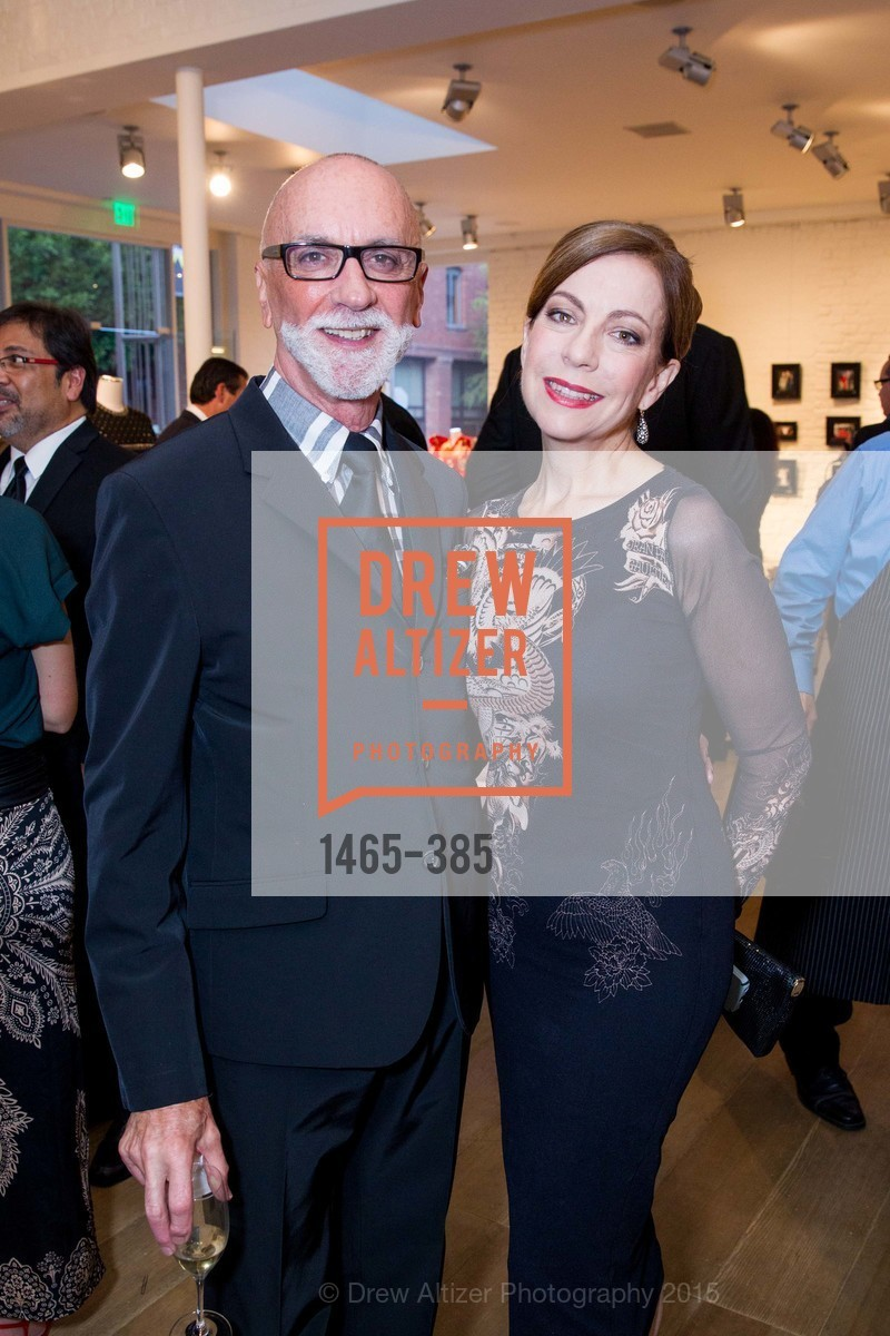James Avila, Kathleen Kennedy, Celebrating Life through Fashion A Retrospective: Collection of Joy Venturini Bianchi to benefit those who are developmentally disabled, Hedge Gallery. 501 Pacific Ave, October 17th, 2015,Drew Altizer, Drew Altizer Photography, full-service agency, private events, San Francisco photographer, photographer california