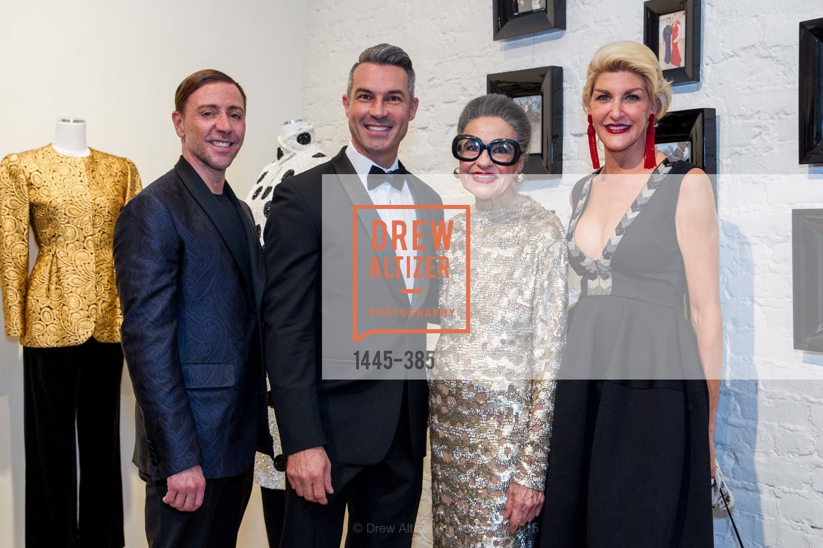 Mark Rhoades, Jerome Molles, Joy Venturini Bianchi, Karen Caldwell, Celebrating Life through Fashion A Retrospective: Collection of Joy Venturini Bianchi to benefit those who are developmentally disabled, Hedge Gallery. 501 Pacific Ave, October 17th, 2015,Drew Altizer, Drew Altizer Photography, full-service event agency, private events, San Francisco photographer, photographer California