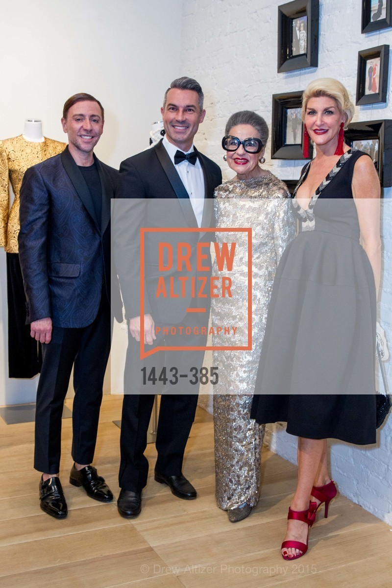 Mark Rhoades, Jerome Molles, Joy Venturini Bianchi, Karen Caldwell, Celebrating Life through Fashion A Retrospective: Collection of Joy Venturini Bianchi to benefit those who are developmentally disabled, Hedge Gallery. 501 Pacific Ave, October 17th, 2015,Drew Altizer, Drew Altizer Photography, full-service agency, private events, San Francisco photographer, photographer california