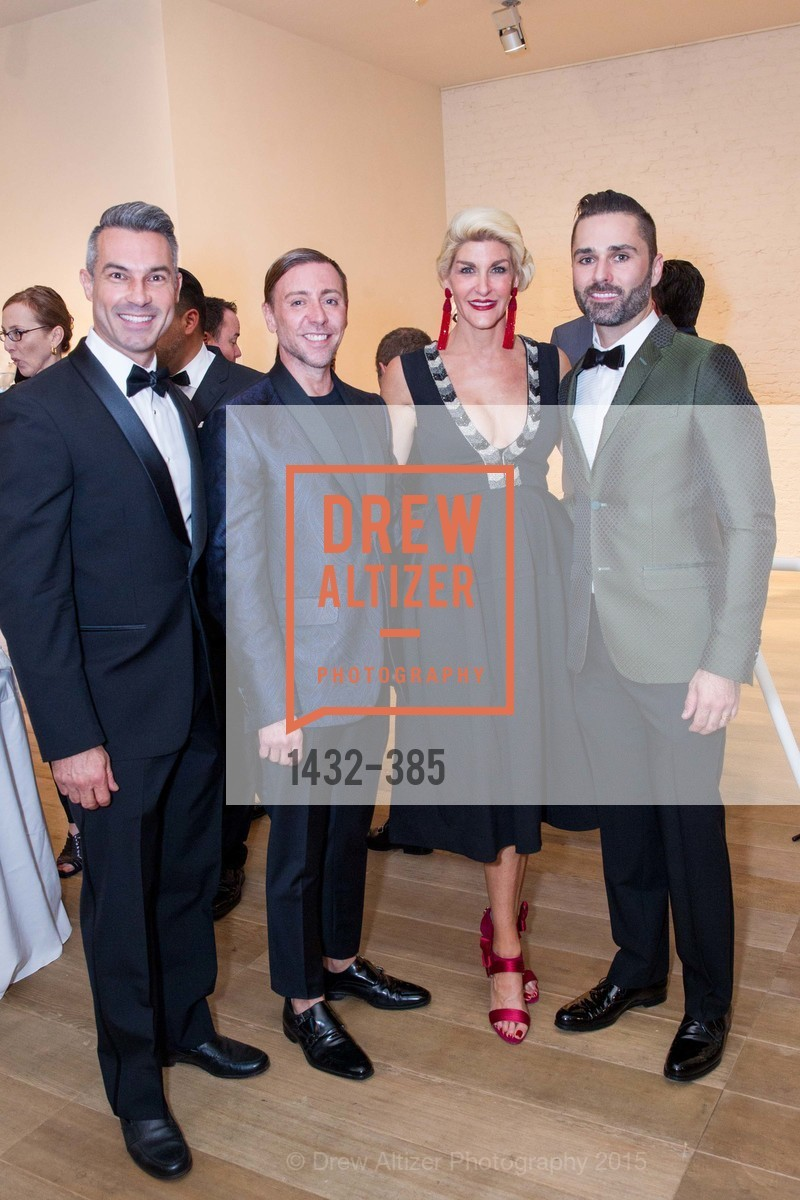 Jerome Molles, Mark Rhoades, Karen Caldwell, John Bradford, Celebrating Life through Fashion A Retrospective: Collection of Joy Venturini Bianchi to benefit those who are developmentally disabled, Hedge Gallery. 501 Pacific Ave, October 17th, 2015,Drew Altizer, Drew Altizer Photography, full-service agency, private events, San Francisco photographer, photographer california