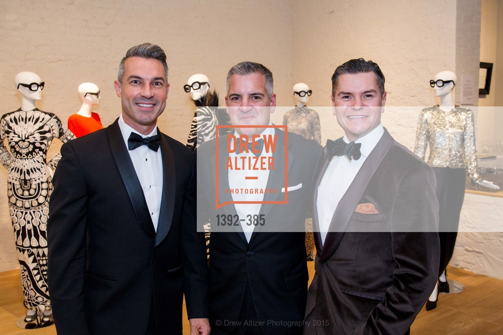 Jerome Molles, Tim Graffigna, Chris Meza, Celebrating Life through Fashion A Retrospective: Collection of Joy Venturini Bianchi to benefit those who are developmentally disabled, Hedge Gallery. 501 Pacific Ave, October 17th, 2015,Drew Altizer, Drew Altizer Photography, full-service agency, private events, San Francisco photographer, photographer california