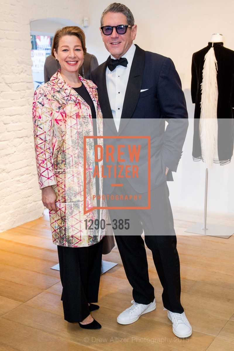 Melissa Emergui, Steven Volpe, Celebrating Life through Fashion A Retrospective: Collection of Joy Venturini Bianchi to benefit those who are developmentally disabled, Hedge Gallery. 501 Pacific Ave, October 17th, 2015