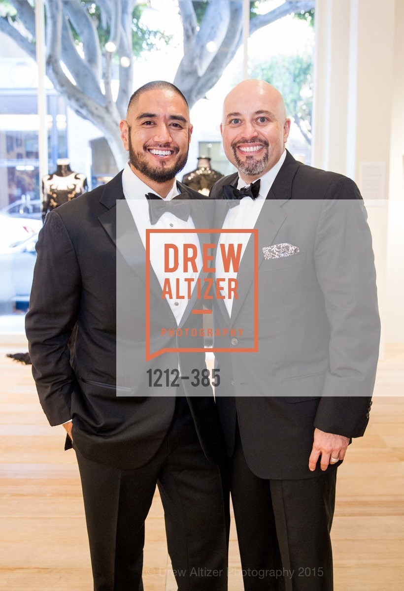 Wayne Bautista, Alfredo Pedroza, Celebrating Life through Fashion A Retrospective: Collection of Joy Venturini Bianchi to benefit those who are developmentally disabled, Hedge Gallery. 501 Pacific Ave, October 17th, 2015,Drew Altizer, Drew Altizer Photography, full-service agency, private events, San Francisco photographer, photographer california