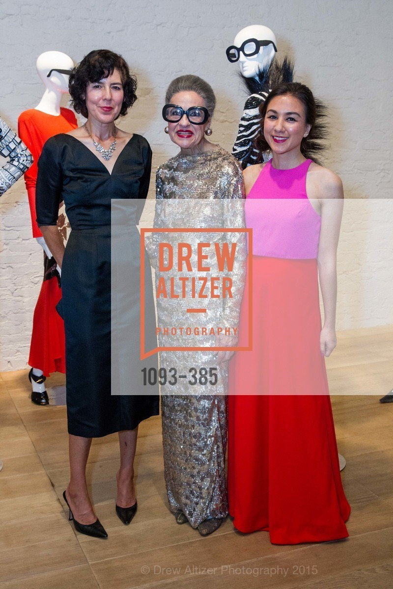 Leda Simonsen, Joy Venturini Bianchi, Emily Dorfman, Celebrating Life through Fashion A Retrospective: Collection of Joy Venturini Bianchi to benefit those who are developmentally disabled, Hedge Gallery. 501 Pacific Ave, October 17th, 2015,Drew Altizer, Drew Altizer Photography, full-service agency, private events, San Francisco photographer, photographer california
