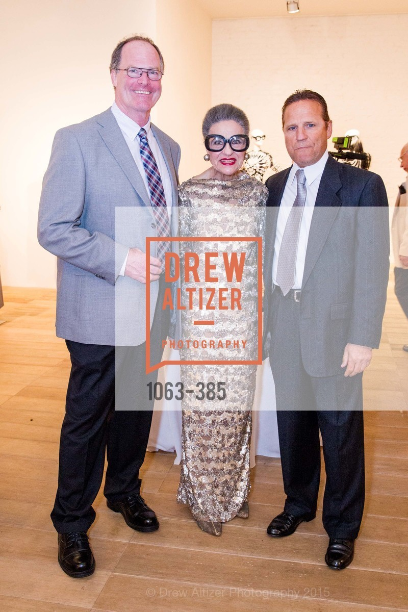 Jerry Darcy, Joy Venturini Bianchi, Tony LaRocca, Celebrating Life through Fashion A Retrospective: Collection of Joy Venturini Bianchi to benefit those who are developmentally disabled, Hedge Gallery. 501 Pacific Ave, October 17th, 2015,Drew Altizer, Drew Altizer Photography, full-service agency, private events, San Francisco photographer, photographer california