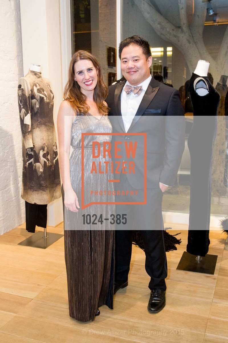Jami Witek, Chris Ying, Celebrating Life through Fashion A Retrospective: Collection of Joy Venturini Bianchi to benefit those who are developmentally disabled, Hedge Gallery. 501 Pacific Ave, October 17th, 2015,Drew Altizer, Drew Altizer Photography, full-service agency, private events, San Francisco photographer, photographer california