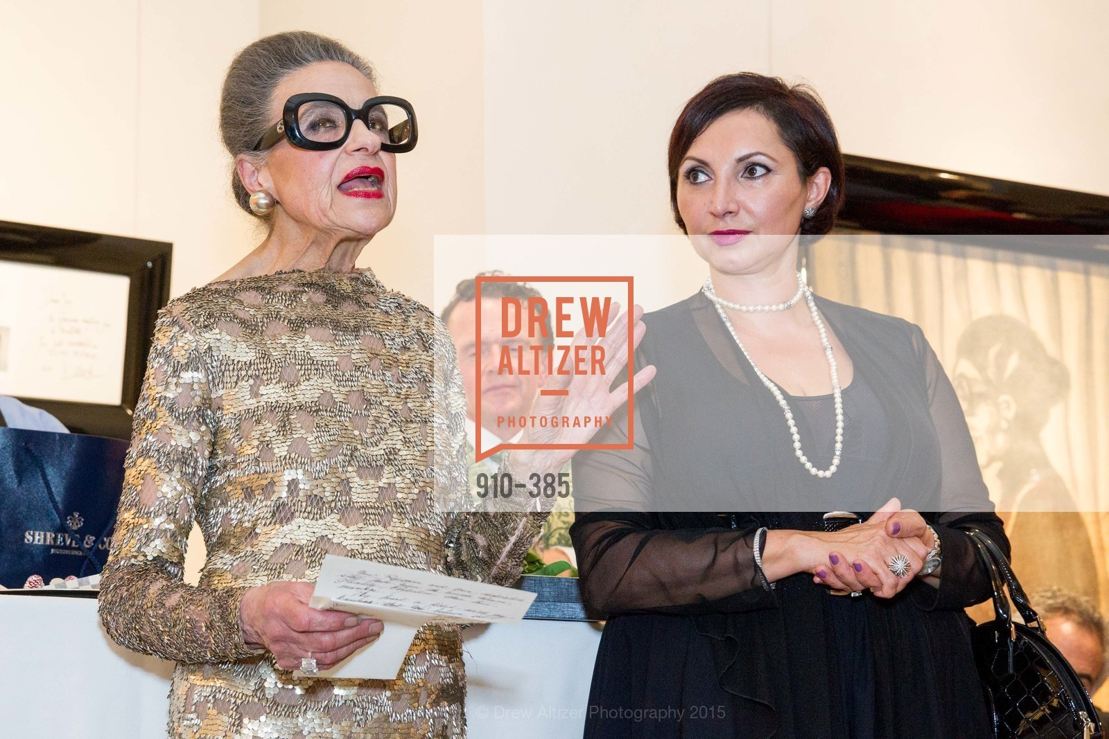 Joy Venturini Bianchi, Roxanne Najafi, Celebrating Life through Fashion A Retrospective: Collection of Joy Venturini Bianchi to benefit those who are developmentally disabled, Hedge Gallery. 501 Pacific Ave, October 17th, 2015,Drew Altizer, Drew Altizer Photography, full-service event agency, private events, San Francisco photographer, photographer California