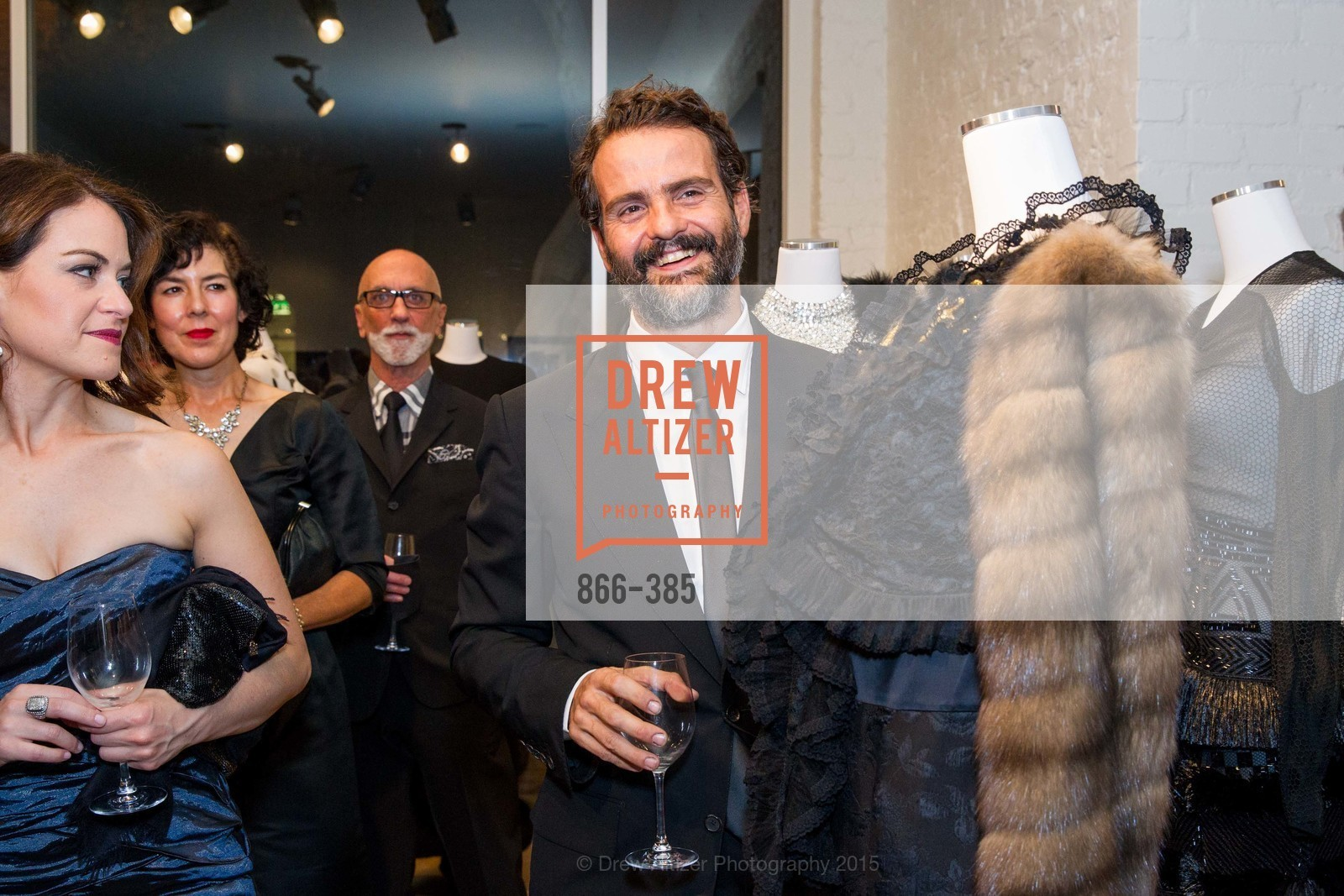 Paullo Trollo, Celebrating Life through Fashion A Retrospective: Collection of Joy Venturini Bianchi to benefit those who are developmentally disabled, Hedge Gallery. 501 Pacific Ave, October 17th, 2015,Drew Altizer, Drew Altizer Photography, full-service agency, private events, San Francisco photographer, photographer california