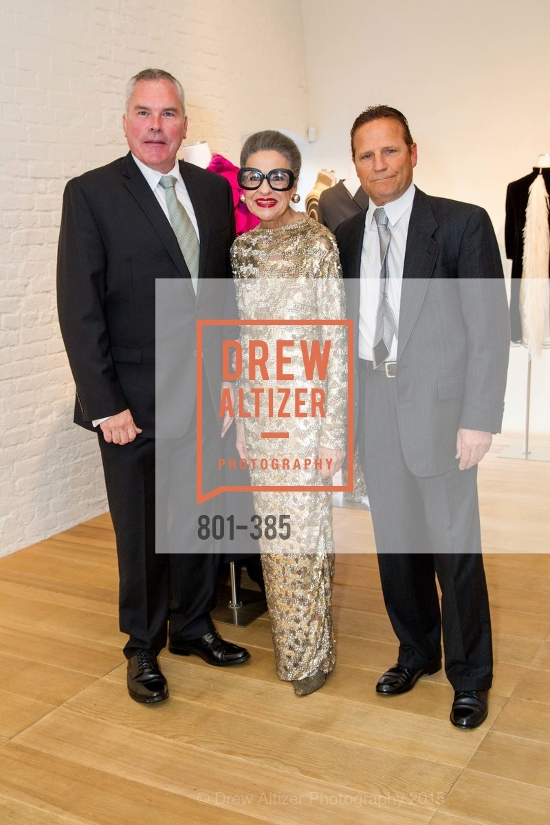 Martin Halloran, Joy Venturini Bianchi, Tony LaRocca, Celebrating Life through Fashion A Retrospective: Collection of Joy Venturini Bianchi to benefit those who are developmentally disabled, Hedge Gallery. 501 Pacific Ave, October 17th, 2015,Drew Altizer, Drew Altizer Photography, full-service agency, private events, San Francisco photographer, photographer california