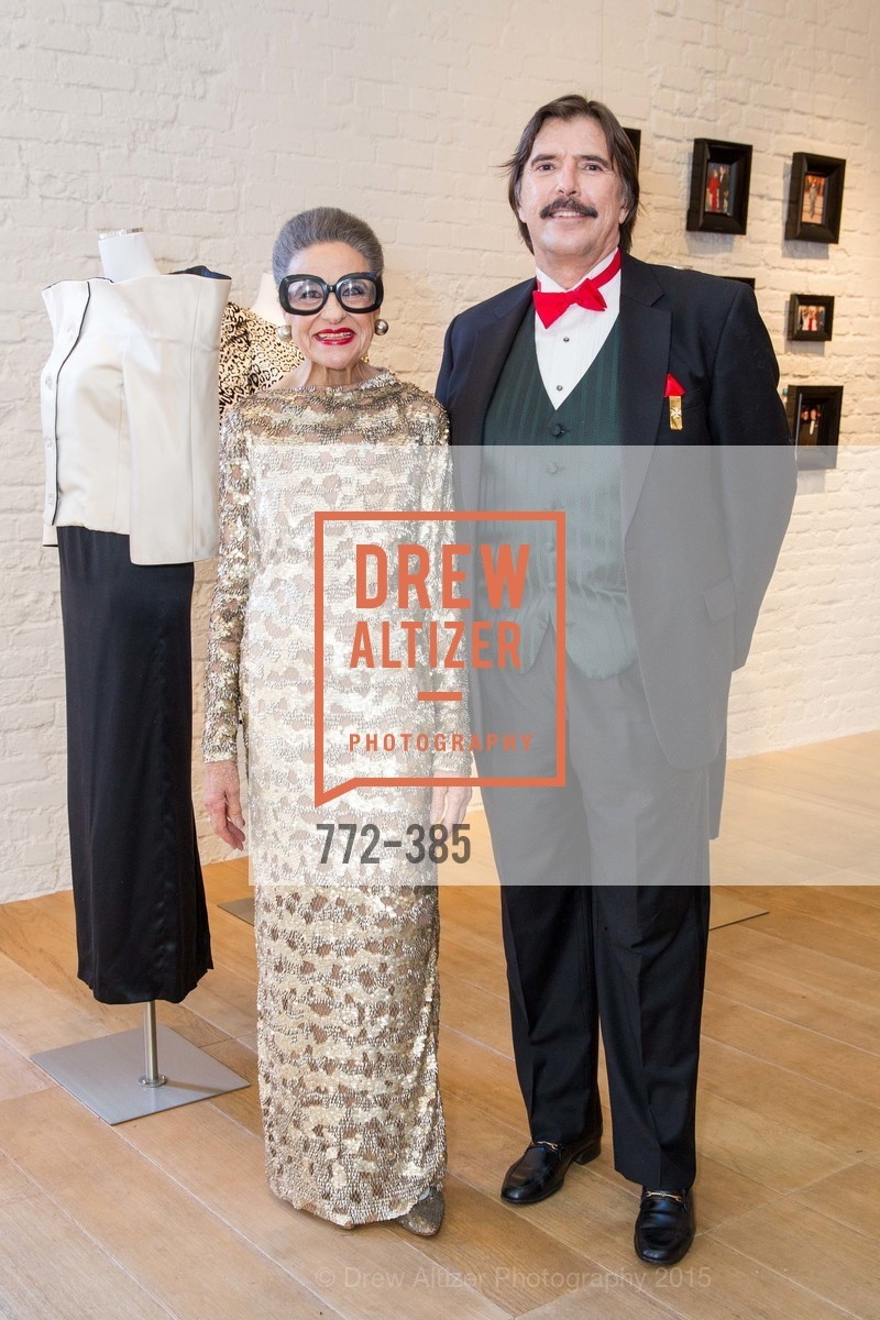 Joy Venturini Bianchi, John Rosin, Celebrating Life through Fashion A Retrospective: Collection of Joy Venturini Bianchi to benefit those who are developmentally disabled, Hedge Gallery. 501 Pacific Ave, October 17th, 2015,Drew Altizer, Drew Altizer Photography, full-service agency, private events, San Francisco photographer, photographer california