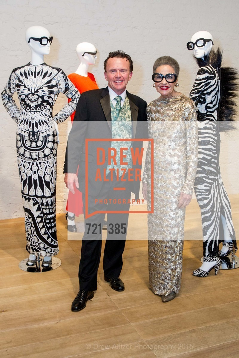 Dennis Snyder, Joy Venturini Bianchi, Celebrating Life through Fashion A Retrospective: Collection of Joy Venturini Bianchi to benefit those who are developmentally disabled, Hedge Gallery. 501 Pacific Ave, October 17th, 2015,Drew Altizer, Drew Altizer Photography, full-service agency, private events, San Francisco photographer, photographer california